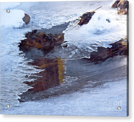 Serendipity In Ice  Acrylic Print