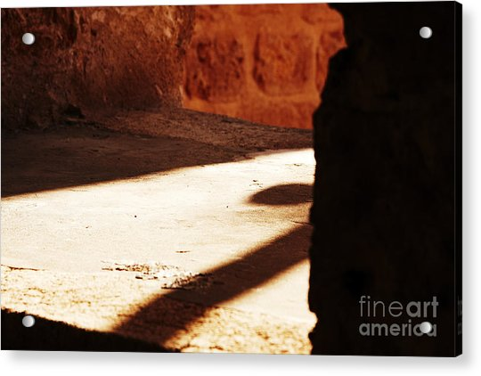 Shadow On The Windows Acrylic Print