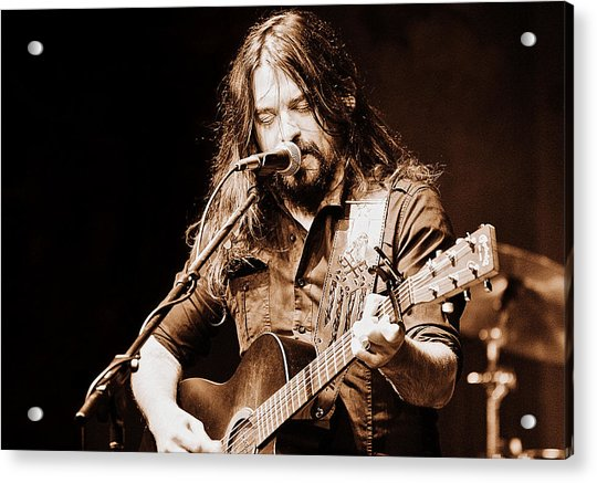 Shooter Jennings - Blurring The Lines Acrylic Print