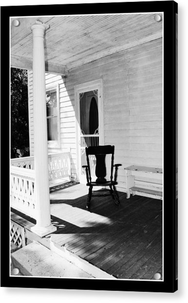 Sit For A Spell Acrylic Print