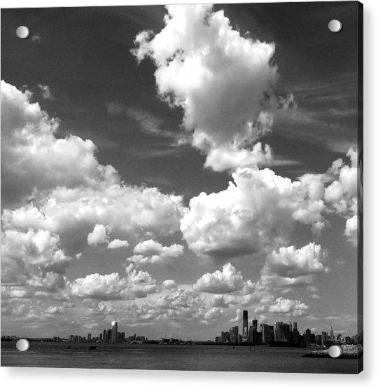 Sky Over Sunset Park Brooklyn Acrylic Print