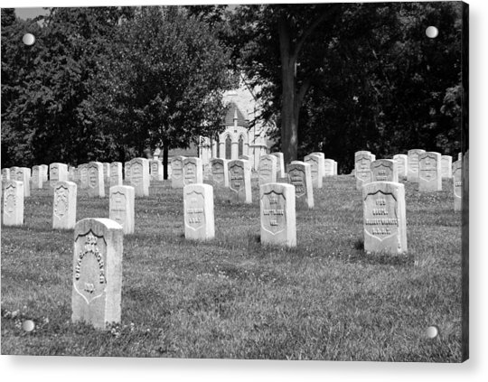 Soldiers At Rest Acrylic Print