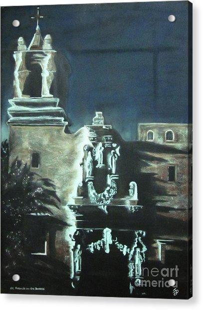 St Francis On The Brazos Acrylic Print
