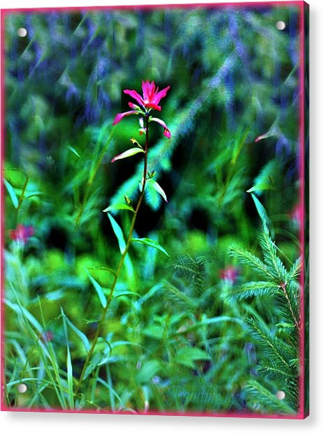 Stands Alone Acrylic Print