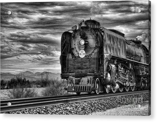 Steam Train No 844 - Iv Acrylic Print