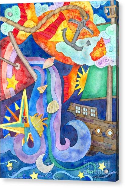 Surreal Seascape Acrylic Print