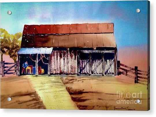 Texas Barn Acrylic Print