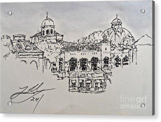The Bellagio Acrylic Print