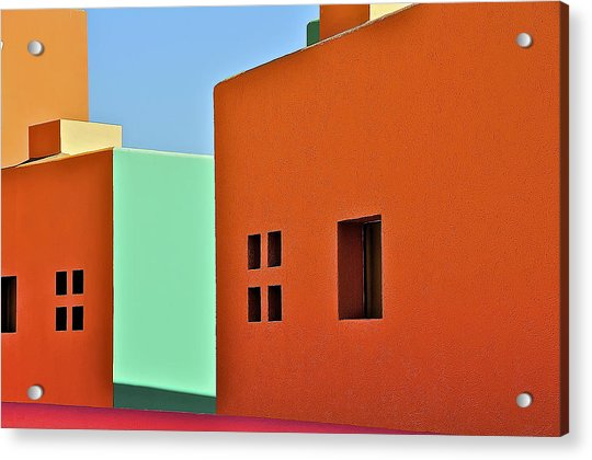 the Colors of Mexico Acrylic Print