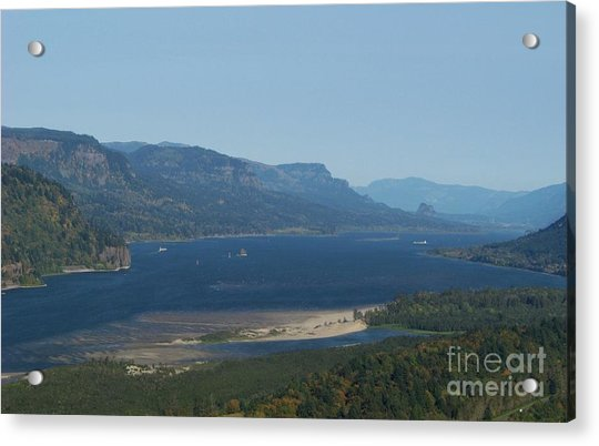 The Columbia River Gorge Acrylic Print