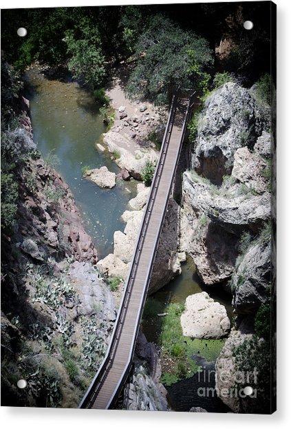 The Foot Bridge Acrylic Print