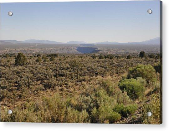 The Gorge On The Mesa Acrylic Print