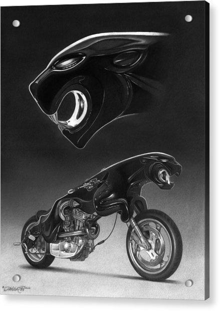 The Leaper Acrylic Print