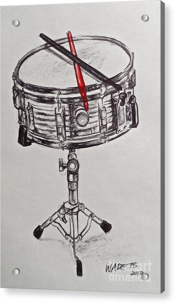 The Marching Band Acrylic Print