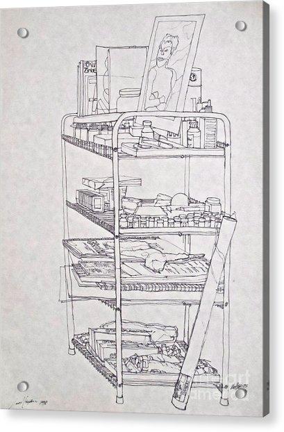 The Supplies Acrylic Print