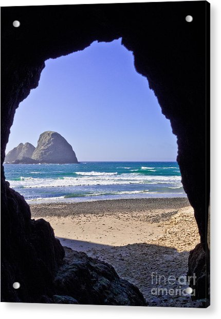 The Tunnel Acrylic Print