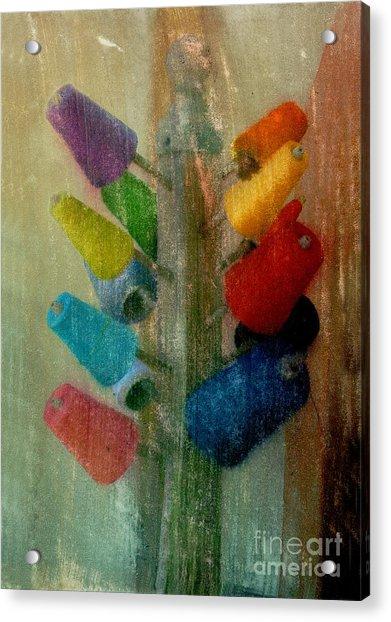 Threads Acrylic Print