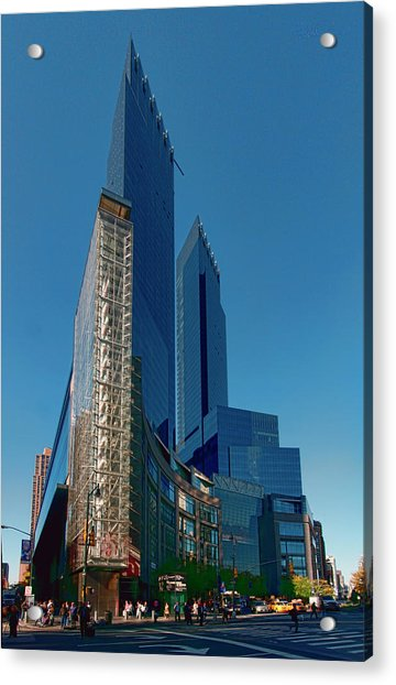 Time Warner Center Acrylic Print
