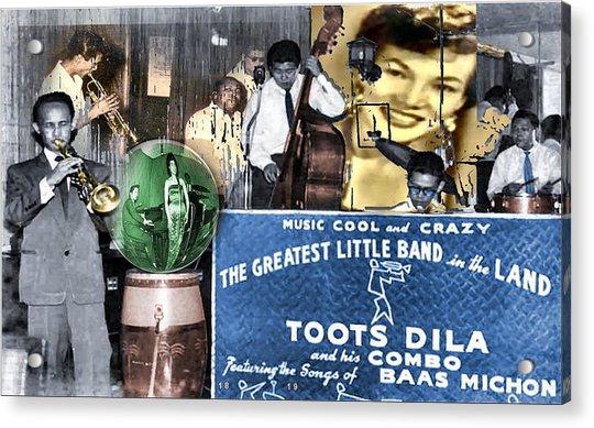 Toots Dila And Band Acrylic Print