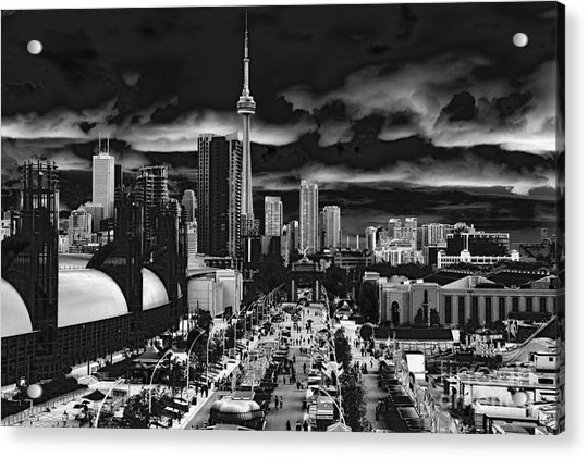 Toronto And The Ex Acrylic Print