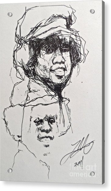 Twice Michael Acrylic Print