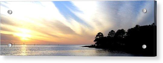 Twilight On The Gulf Acrylic Print