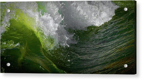 Wave In Motion Acrylic Print