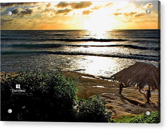 Windansea At Sunset Acrylic Print