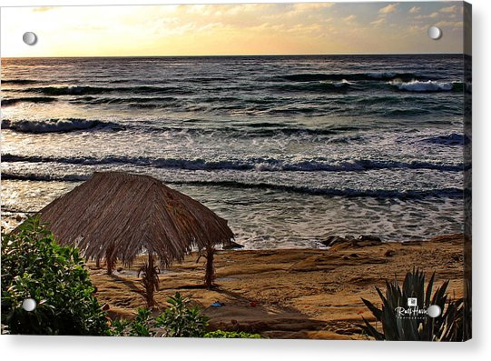 Windansea Surf Shack Acrylic Print