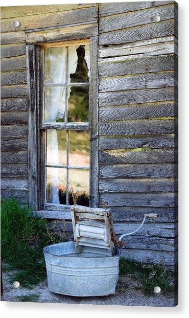 Window On Prairie Life Acrylic Print