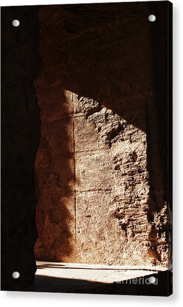 Window To The Shadows Acrylic Print