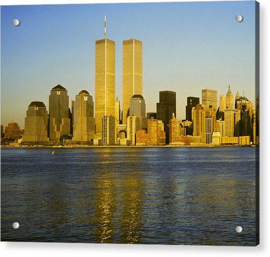 World Trade Center 1987 Acrylic Print