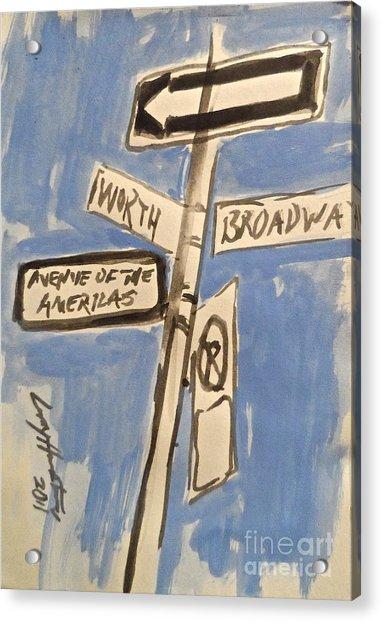 Worth Street Acrylic Print