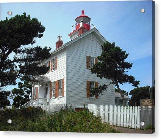 Yaquina Bay Lighthouse Newport Acrylic Print