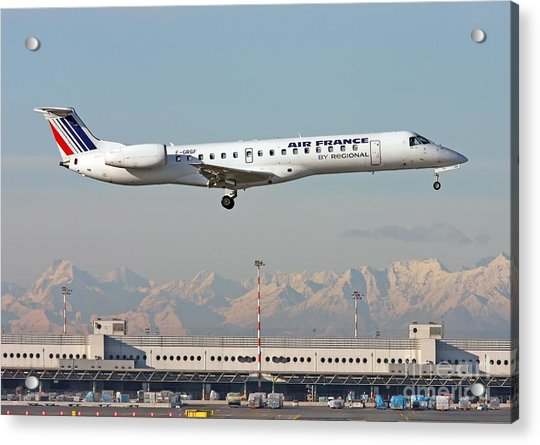 Air France Regional Airlines Embraer Erj-145eu - F-grgf  Acrylic Print