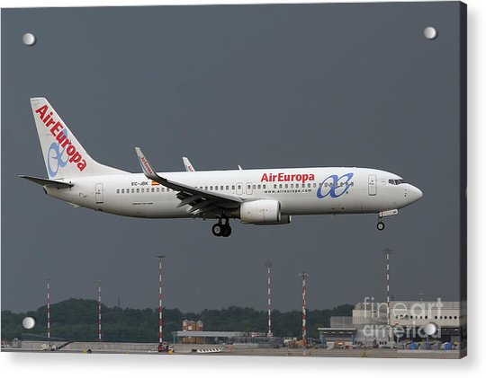 Aireuropa - Boeing 737-800 - Ec-jbk  Acrylic Print