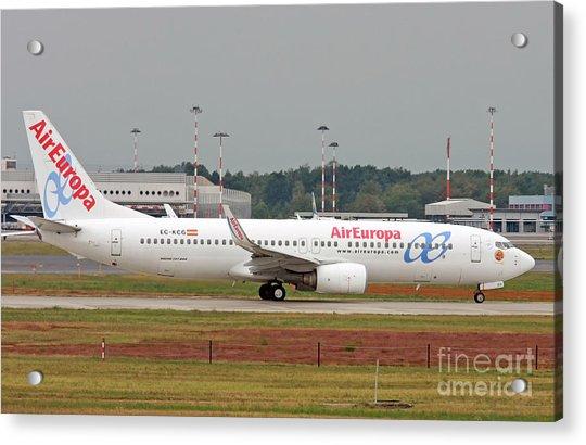 Aireuropa - Boeing 737-800 - Ec-kcg  Acrylic Print