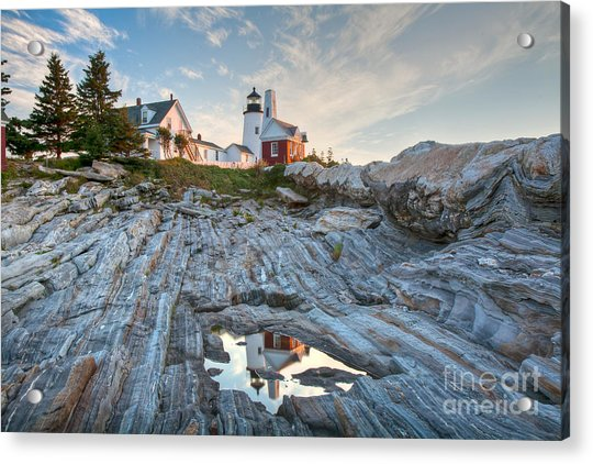 Pemaquid Point Reflection Acrylic Print