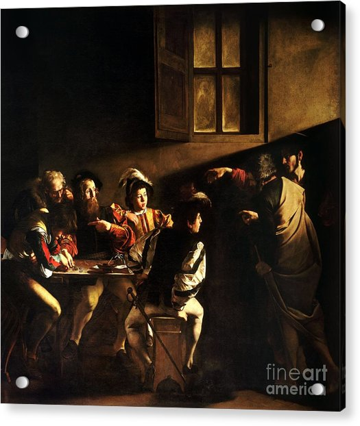 The Calling Of Saint Matthew Acrylic Print