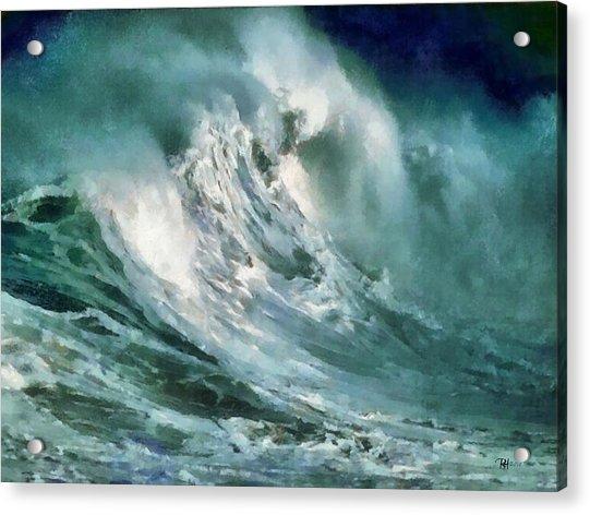 Tsunami - Raging Sea Acrylic Print