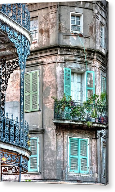 0254 French Quarter 10 - New Orleans Acrylic Print