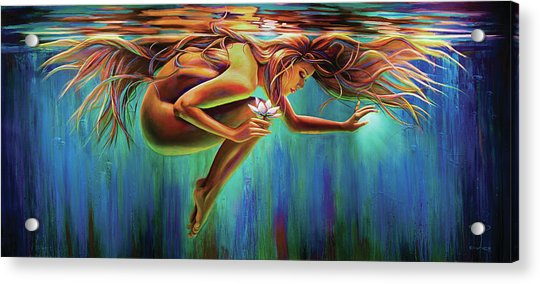 Aquarian Rebirth Acrylic Print