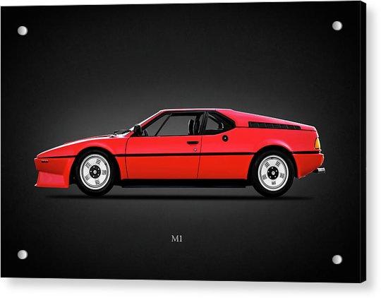 Bmw M1 1979 Acrylic Print