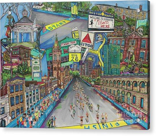 Boston Strong Acrylic Print