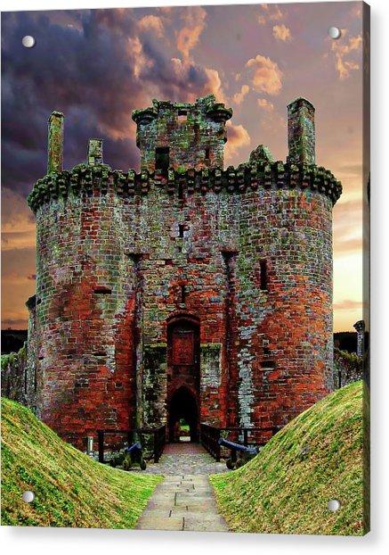 Caerlaverock Castle Acrylic Print