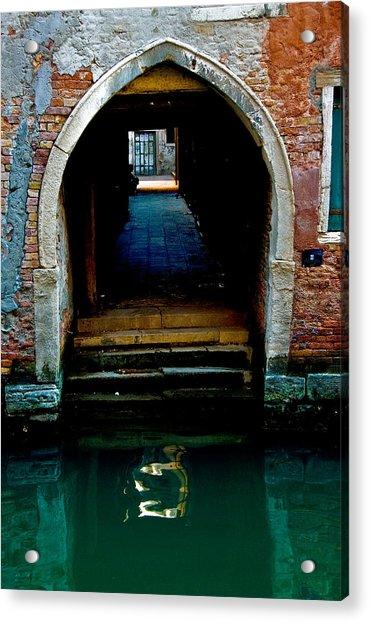 Canal Entrance Acrylic Print