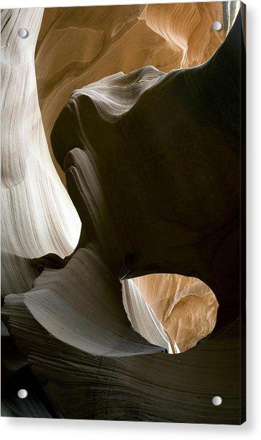 Canyon Sandstone Abstract Acrylic Print