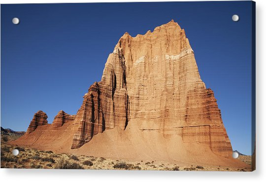 Capitol Reef National Park Temple Of The Sun Acrylic Print by Mark Smith