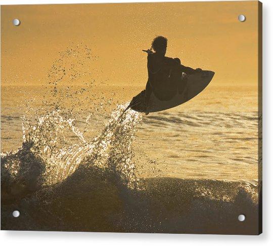 Catching Air Acrylic Print