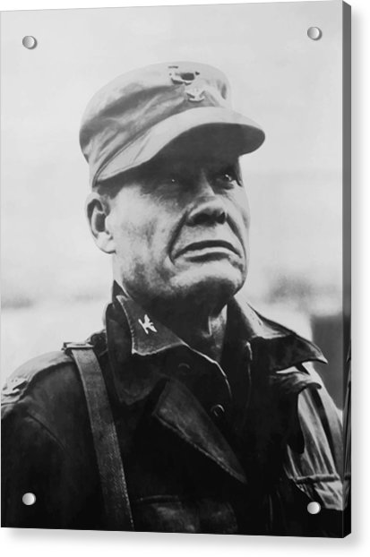 Chesty Puller Acrylic Print